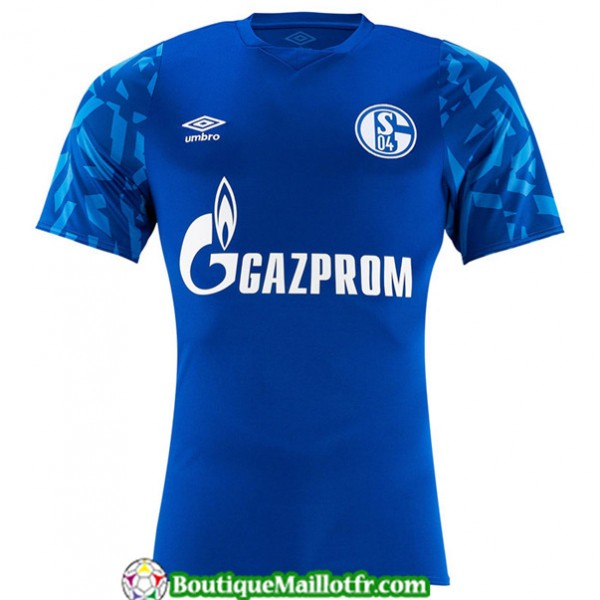Maillot Schalke 04 2019 2020 Domicile