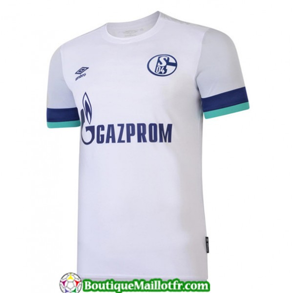 Maillot Schalke 04 2019 2020 Exterieur