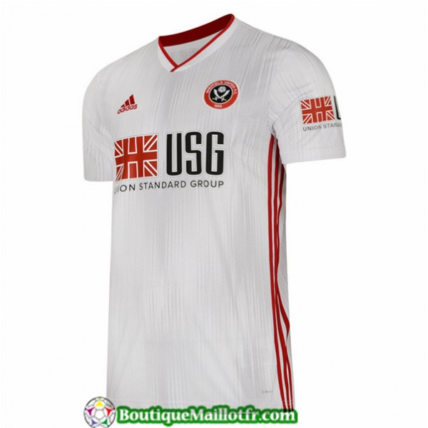 Maillot Sheffield United 2019 2020 Exterieur