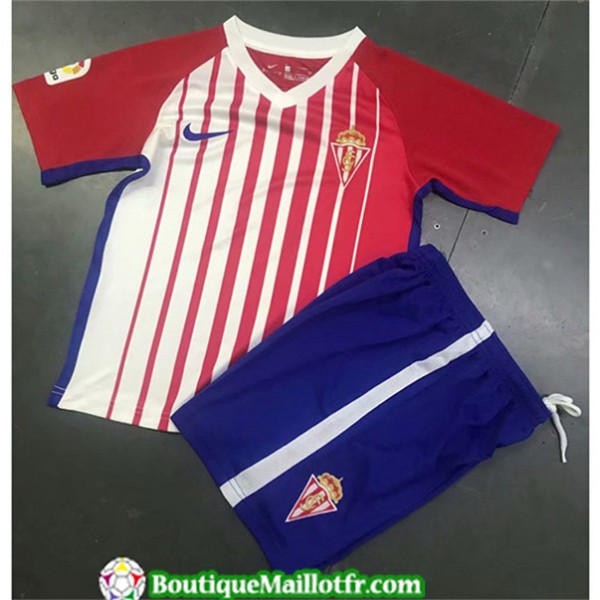 Maillot Sporting Gijon Enfant 2019 2020 Domicile