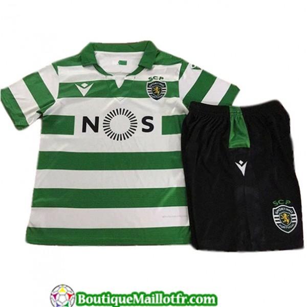 Maillot Sporting Lisbon Enfant 2019 2020