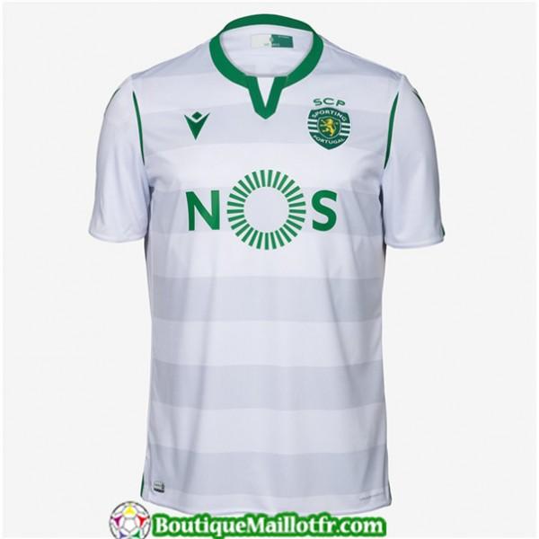 Maillot Sporting Lisbonne 2019 2020 Third Blanc