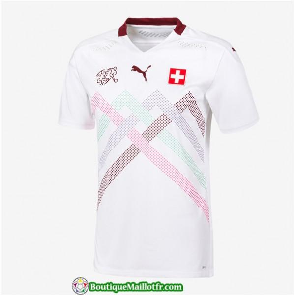 Maillot Suisse Uefa Euro 2020 Exterieur