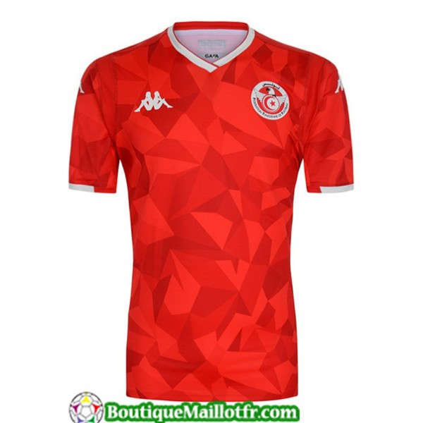 Maillot Tunisie 2019 2020 Exterieur Rouge