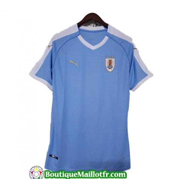 Maillot Uruguay 2019 2020 Domicile Bleu