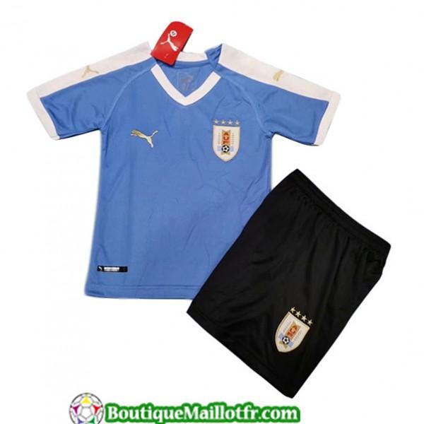 Maillot Uruguay Enfant 2019 2020 Domicile Bleu