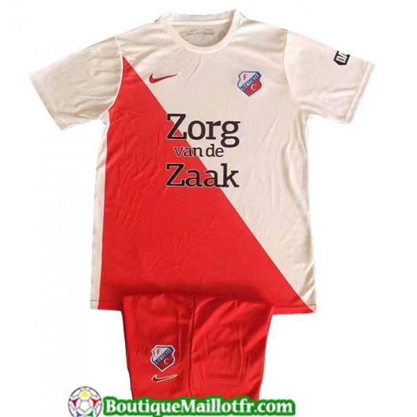 Maillot Utrecht Enfant 2019 2020 Blanc Rouge