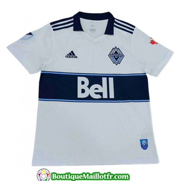 Maillot Vancouver 2019 2020 Blanccaps