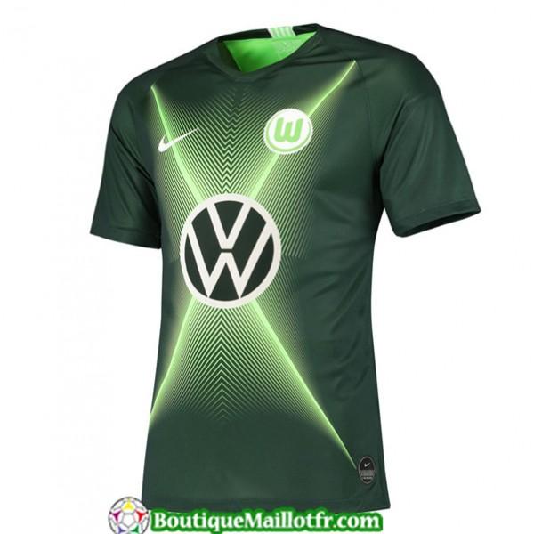 Maillot Wolfsburg 2019 2020 Domicile Vert