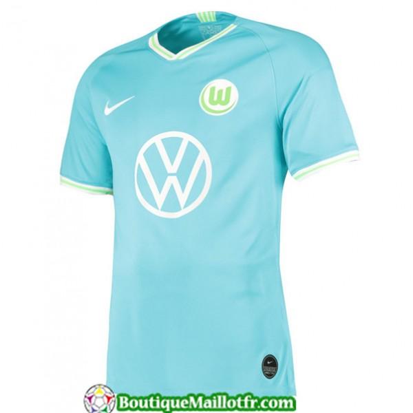 Maillot Wolfsburg 2019 2020 Exterieur Bleu