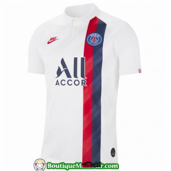 Maillot Paris Saint Germain 2019 2020 Third Blanc