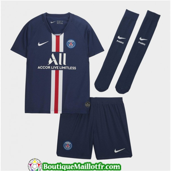 Maillot Paris Saint Germain Enfant 2019 2020 Domic...