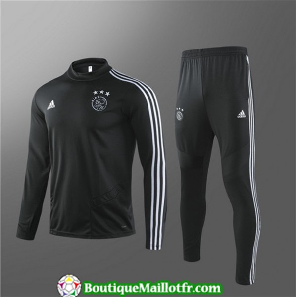 Survetement Ajax 2019 2020 Ensemble Noir