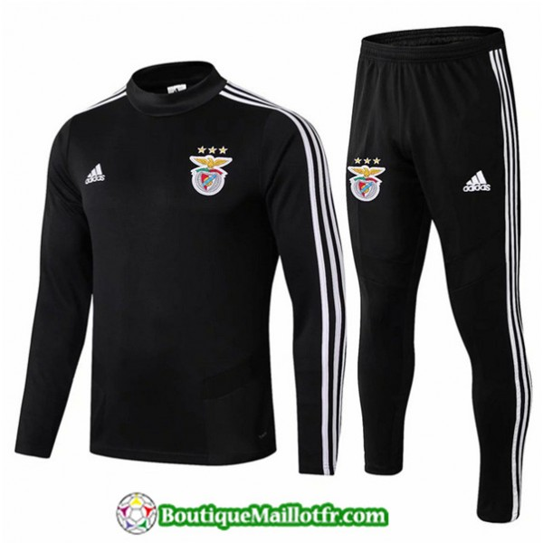 Survetement Benfica 2019 2020 Ensemble Noir