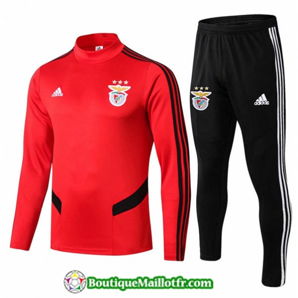 Survetement Benfica 2019 2020 Ensemble Rouge + Sho...