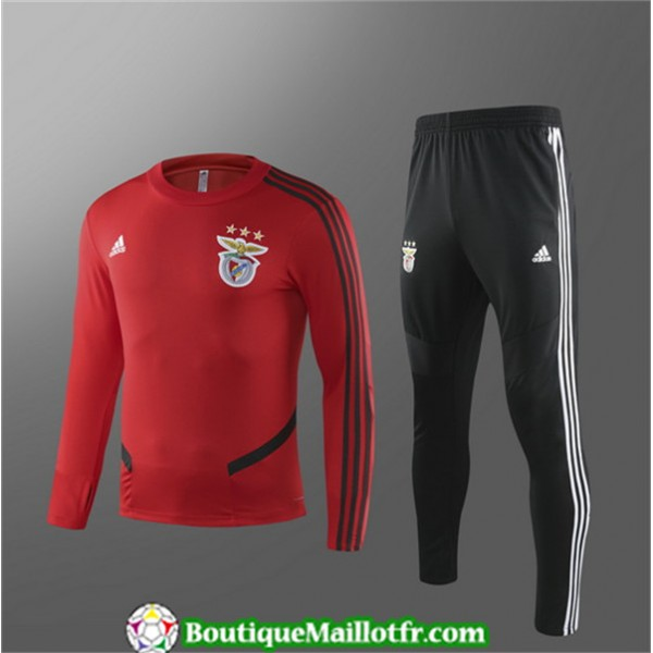 Survetement Benfica Enfant 2019 2020 Ensemble Roug...