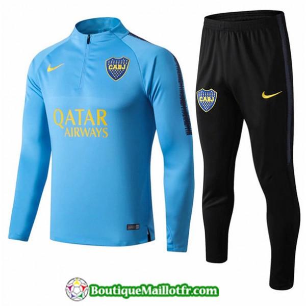 Survetement Boca Juniors 2019 2020 Ensemble Bleu