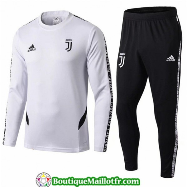 Survetement Juventus 2019 2020 Ensemble Blanc + Sh...