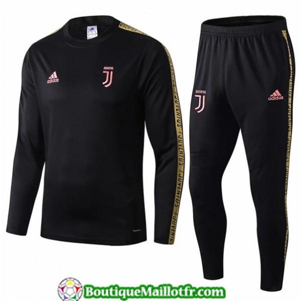 Survetement Juventus 2019 2020 Ensemble Noir/jaune