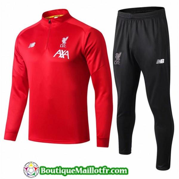 Survetement Liverpool 2019 2020 Ensemble Rouge + S...