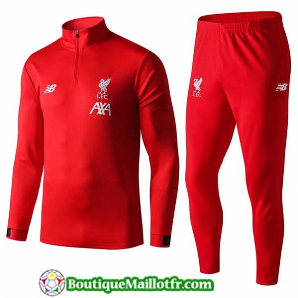 Survetement Liverpool 2019 2020 Ensemble Rouge