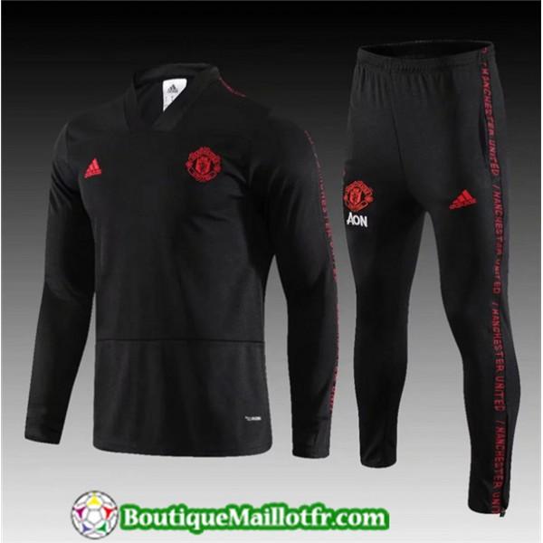 Survetement Manchester United 2019 2020 Ensemble N...