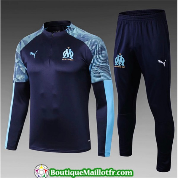 Survetement Marseille Enfant 2019 2020 Ensemble Bl...