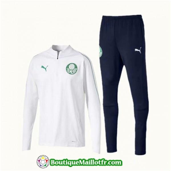 Survetement Palmeiras 2019 2020 Ensemble Blanc + S...