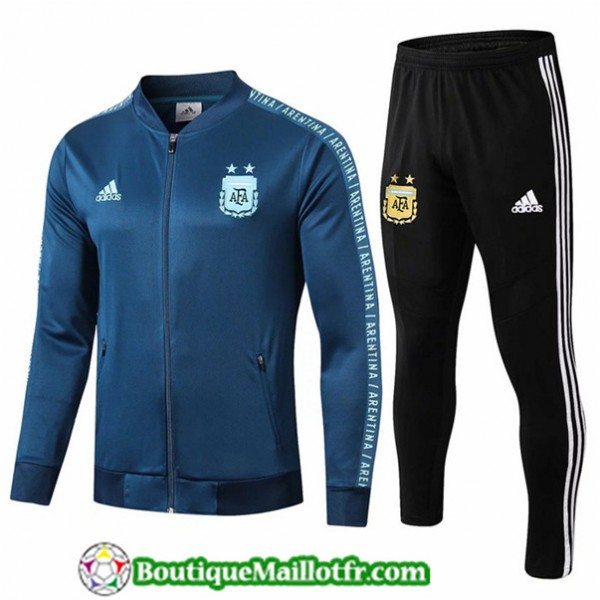 Veste Survetement Argentine 2019 2020 Ensemble Ble...