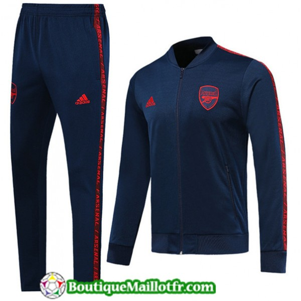 Veste Survetement Arsenal 2019 2020 Ensemble Bleu ...