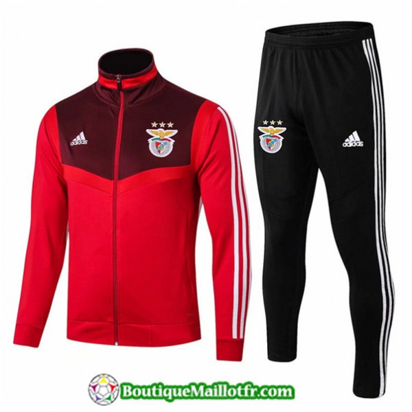 Veste Survetement Benfica 2019 2020 Ensemble Rouge...
