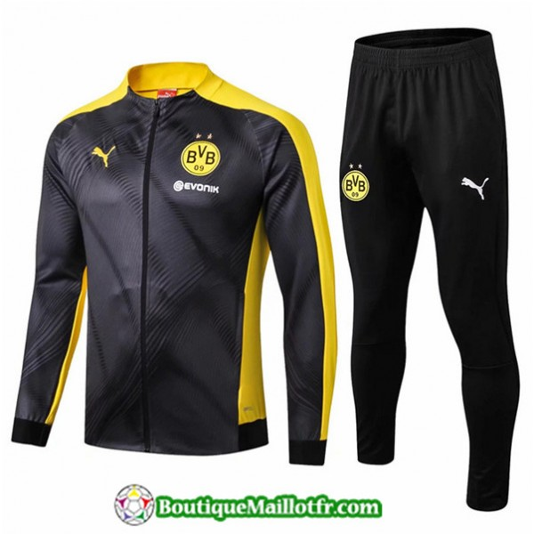 Veste Survetement Borussia Dortmund Bvb 2019 2020 ...