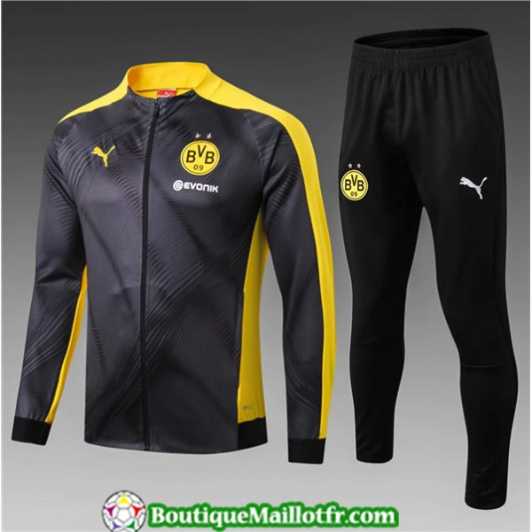 Veste Survetement Borussia Dortmund Enfant 2019 20...