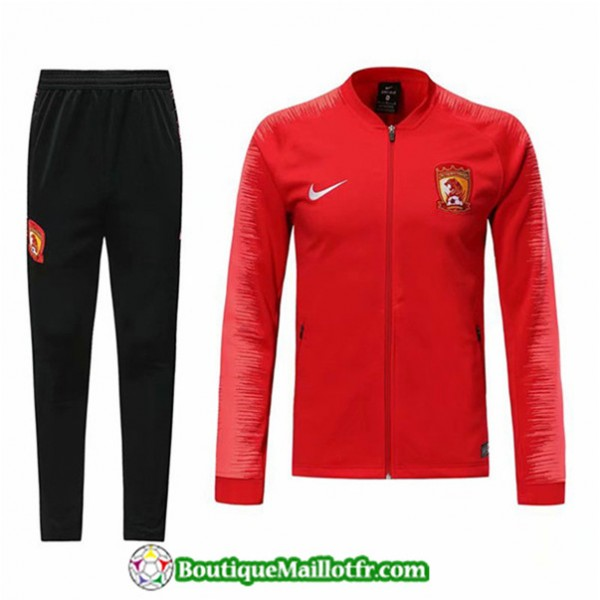 Veste Survetement Guangzhou Evergrande 2019 2020 E...