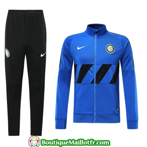 Veste Survetement Inter Milan 2019 2020 Ensemble B...