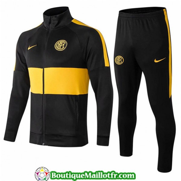 Veste Survetement Inter Milan 2019 2020 Ensemble N...