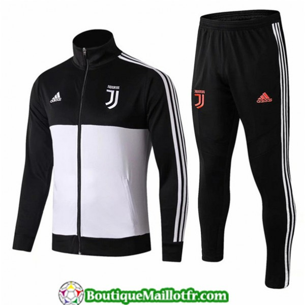 Veste Survetement Juventus 2019 2020 Ensemble Noir...
