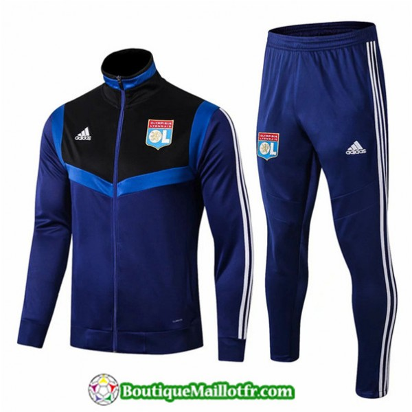 Veste Survetement Lyon 2019 2020 Ensemble Bleu Mar...