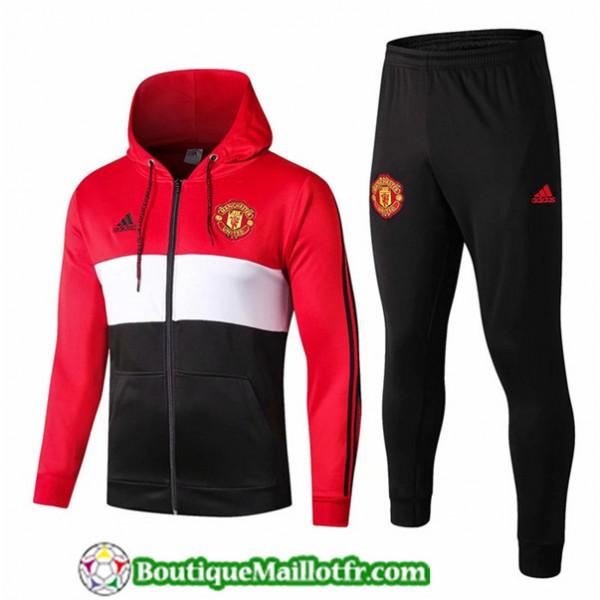 Veste Survetement Manchester United 2019 2020 Ense...
