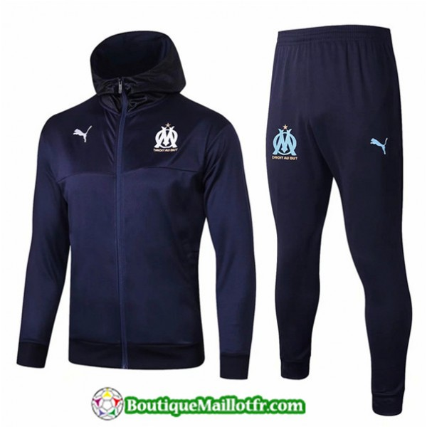 Veste Survetement Marseille 2019 2020 Ensemble Ble...