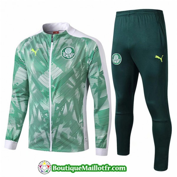 Veste Survetement Palmeiras 2019 2020 Ensemble Ver...
