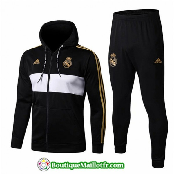 Veste Survetement Real Madrid 2019 2020 Ensemble N...