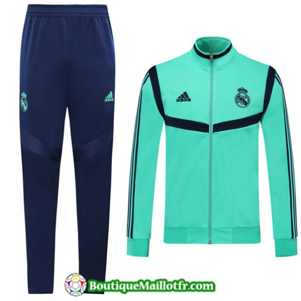 Veste Survetement Real Madrid 2019 2020 Ensemble V...