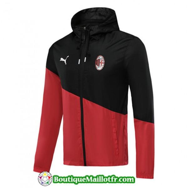 Veste De Foot Ac Milan 2019 2020 à Capuche Coupe ...