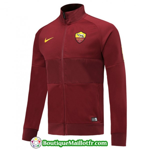 Veste De Foot As Roma 2019 2020 Jujube Rouge