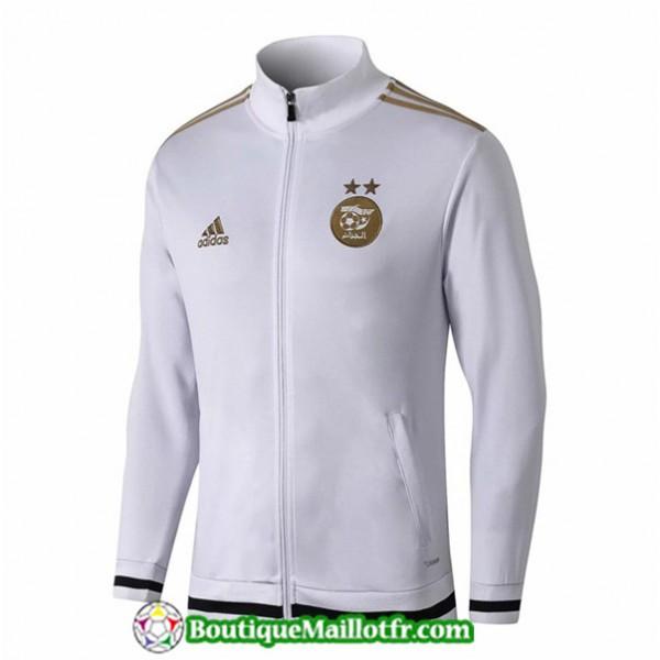 Veste De Foot Algerie 2019 2020 Blanc