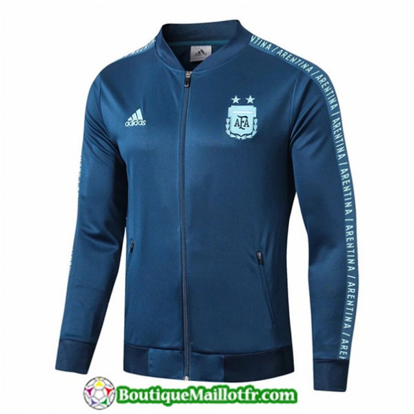 Veste De Foot Argentine 2019 2020 Bleu Marine