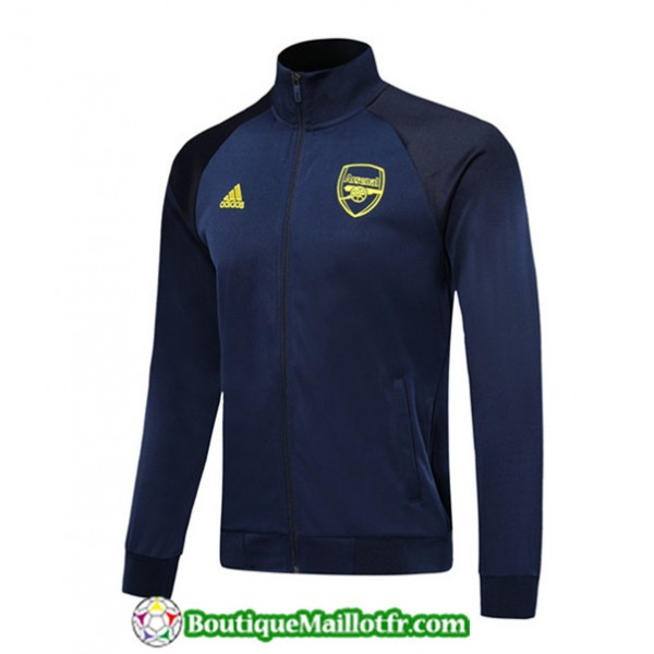 Veste De Foot Arsenal 2019 2020 Bleu Marine