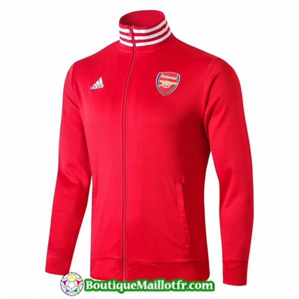 Veste De Foot Arsenal 2019 2020 Rouge