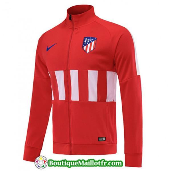 Veste De Foot Atletico Madrid 2019 2020 Rouge/blan...